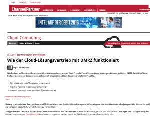 DMRZ ChannelPartner Interview Sievers